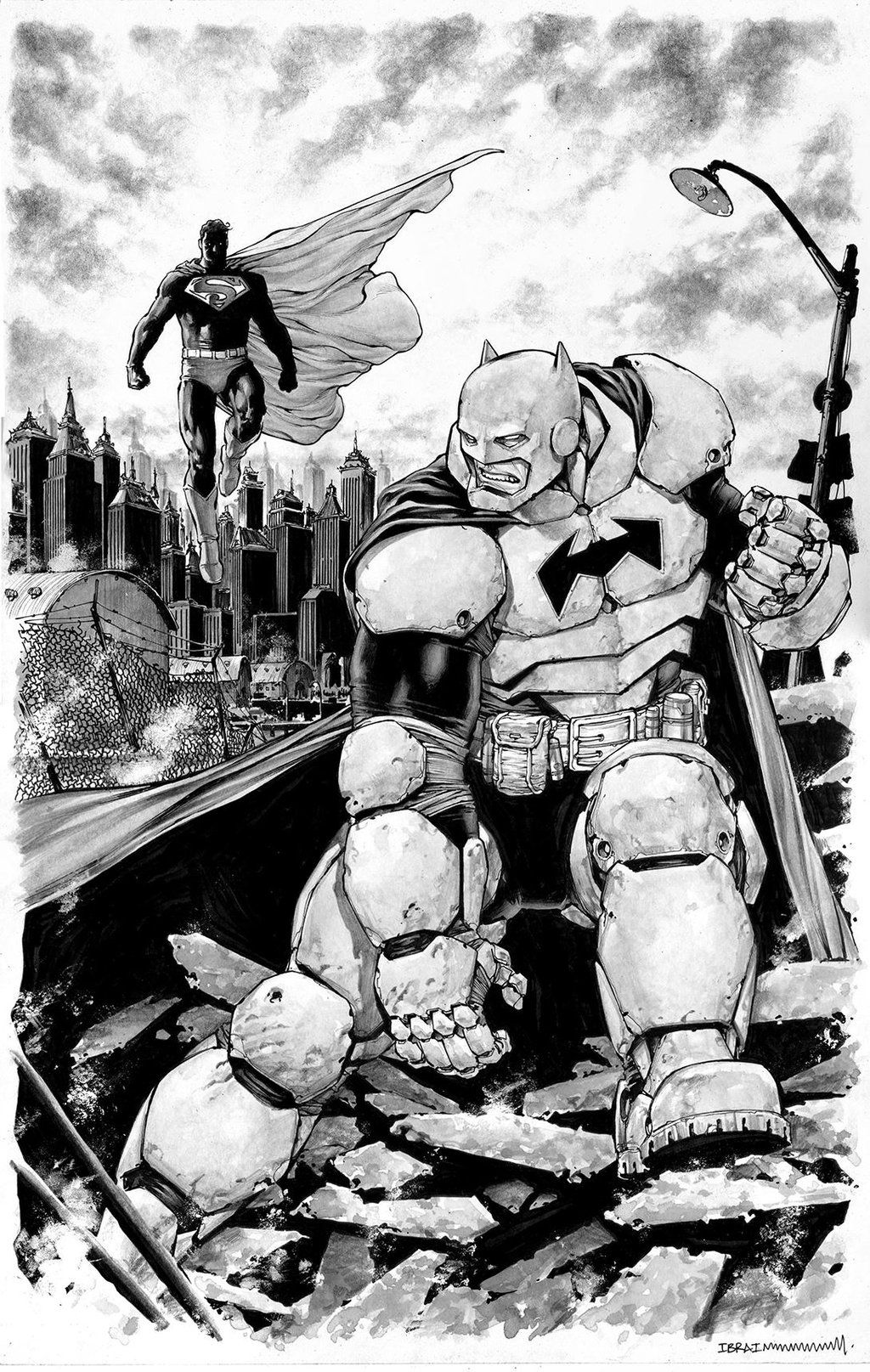 The Dark Knight Returns by Ibraim Roberson