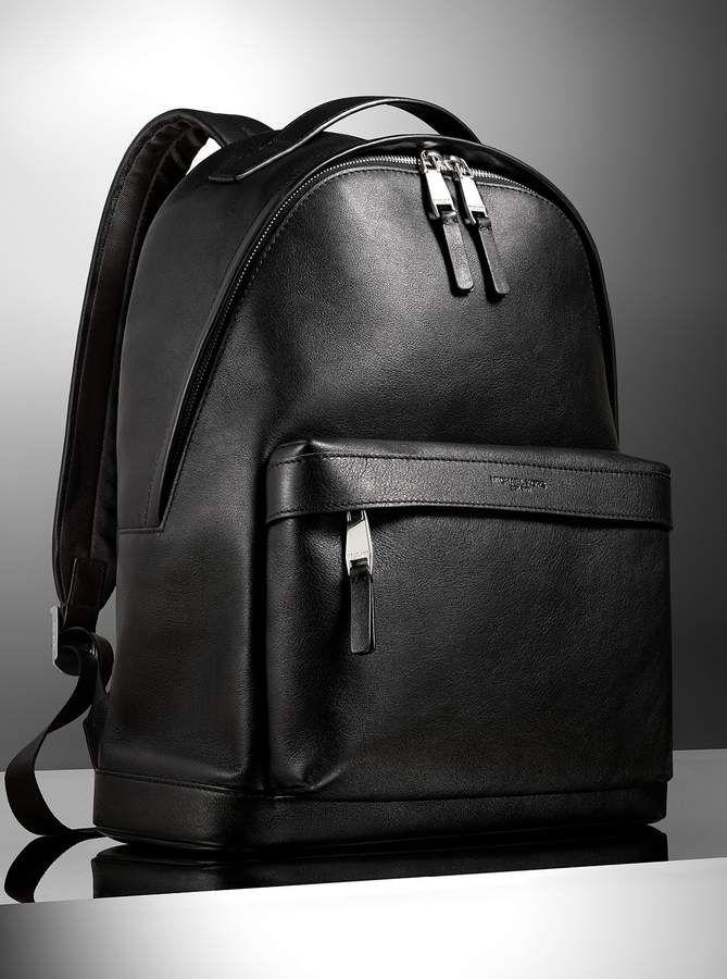 a7de6169c727 Michael Kors Odin Leather Backpack