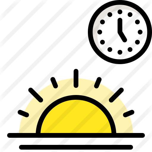Sunrise Free Vector Icons Designed By Amonrat Rungreangfangsai Vector Icon Design Icon Vector Icons