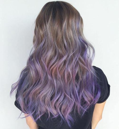 prettiest pastel purple hair