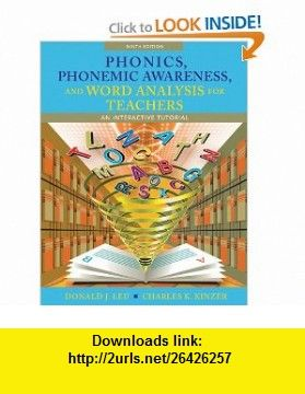 Phonics phonemic awareness and word analysis for teachers an phonics phonemic awareness and word analysis for teachers an interactive tutorial 9th edition fandeluxe Images