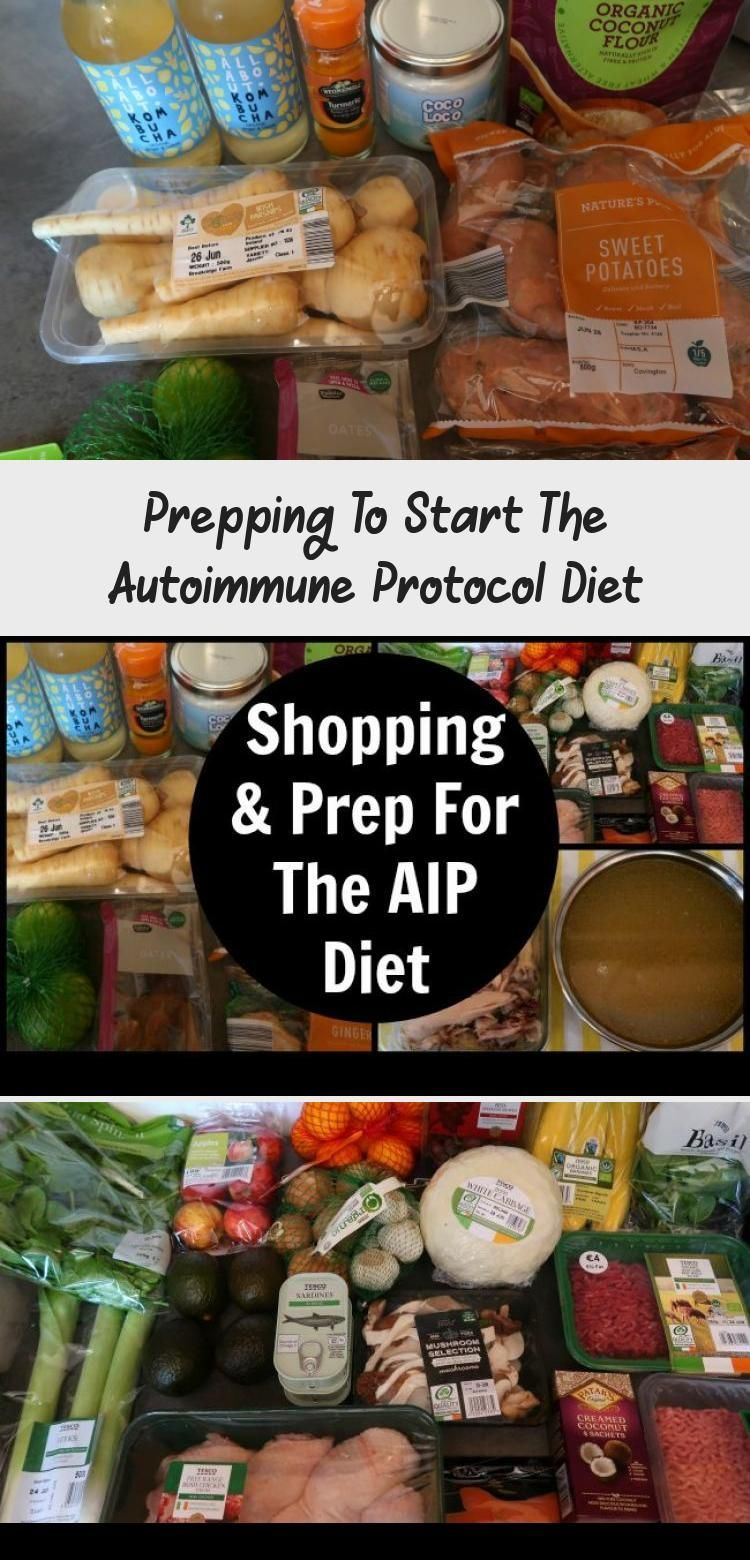 Prepping To Start The Autoimmune Protocol Diet - Meal Prep ...