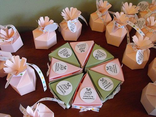 Handmade Baby Shower Party Favors Baby Shower Decoration Ideas
