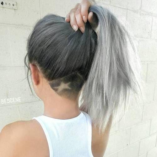 vintage hairstyles 2018 undercut
