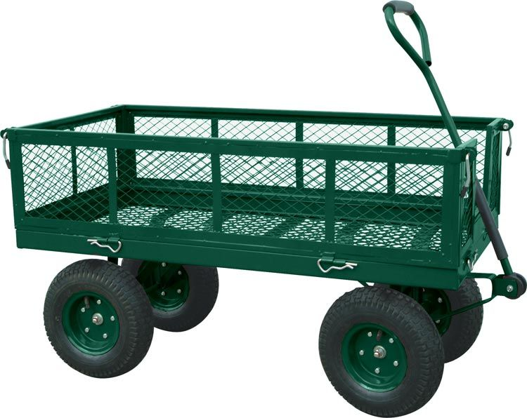 Wheelbarrows Garden Carts Lawn Garden Tools The Home Depot Canada With Images Garden Wagon Utility Wagon Utility Cart