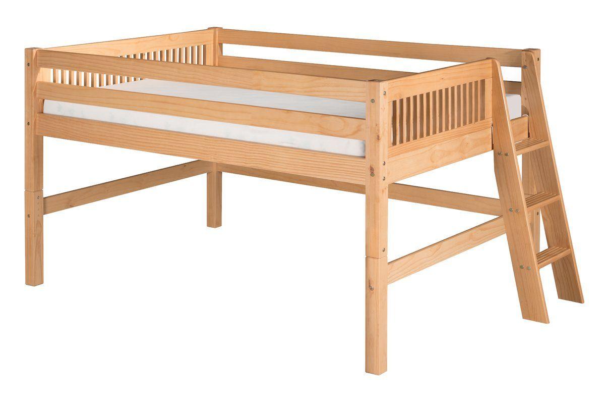 Kids low loft bed  Isabelle Full Low Loft Bed  Bunk Beds  Pinterest  Low loft beds