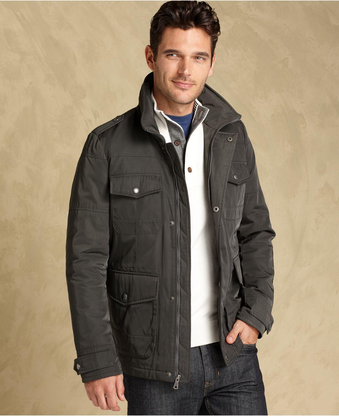 Tommy Hilfiger Jacket Four Pocket Field Jacket Mens Coats Jackets Macy S Mens Jackets Tommy Hilfiger Jackets Mens Coats [ 1616 x 1320 Pixel ]