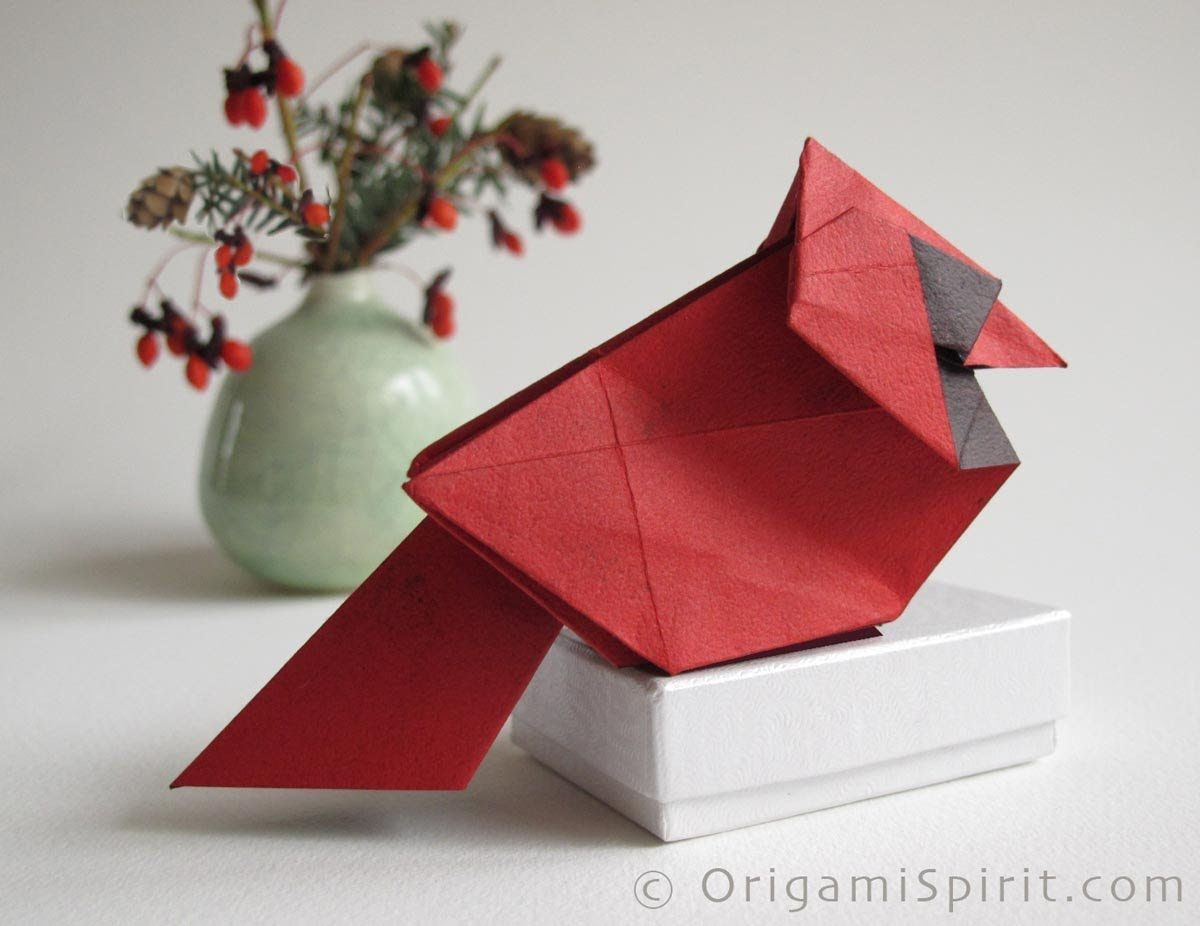 Photo of Make a Cardinal for Christmas :: Cardenal de Navidad