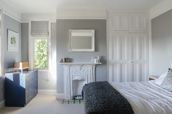 Chic Shadow Dulux Chic Shadow Bedroom Grey Room Home Bedroom