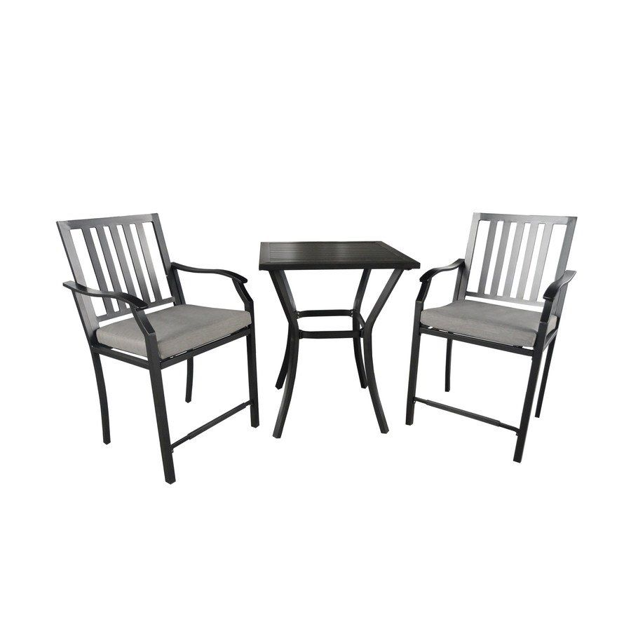 Shop Garden Treasures Hidden River Counter Height Outdoor Bistro Set At  Loweu0027s Canada. Find Our Selection Of Outdoor Dining Sets At The Lowest  Price ...