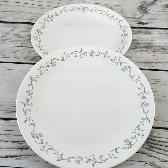 2 Corelle Country Cottage Dinner Plates 10.25 Corning & 2 Corelle Country Cottage Dinner Plates 10.25 Corning | Vintage ...