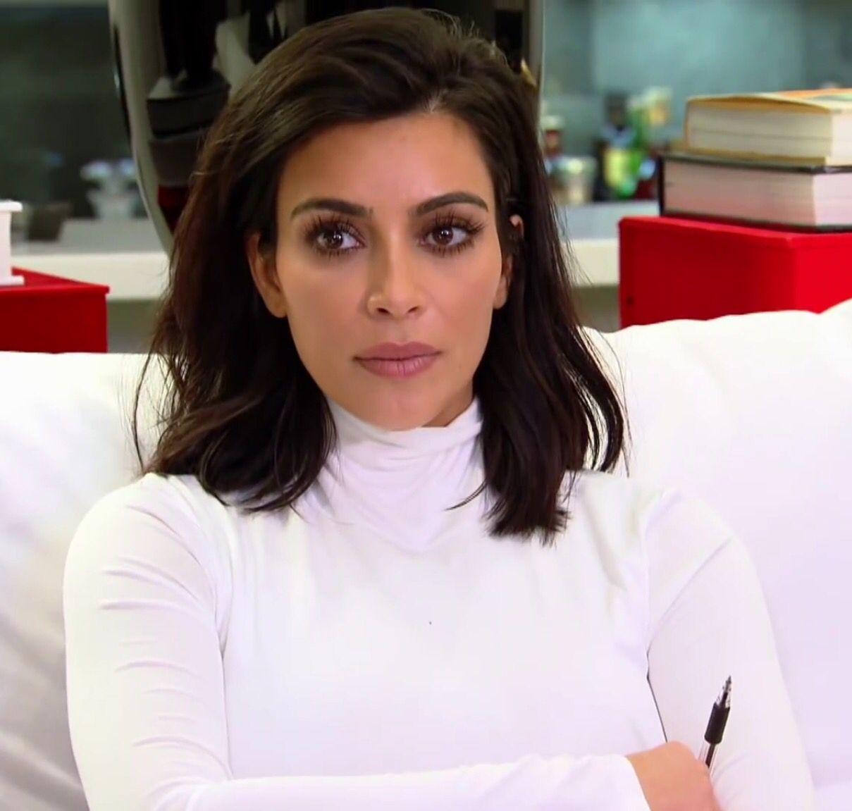 Kim Kardashian Makeup Short Hair Hair Pinterest Tresses
