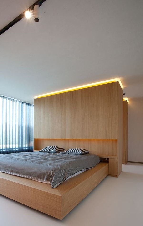 Ventajas de la iluminaci n led eficiencia energ tica for Casa minimalista roja