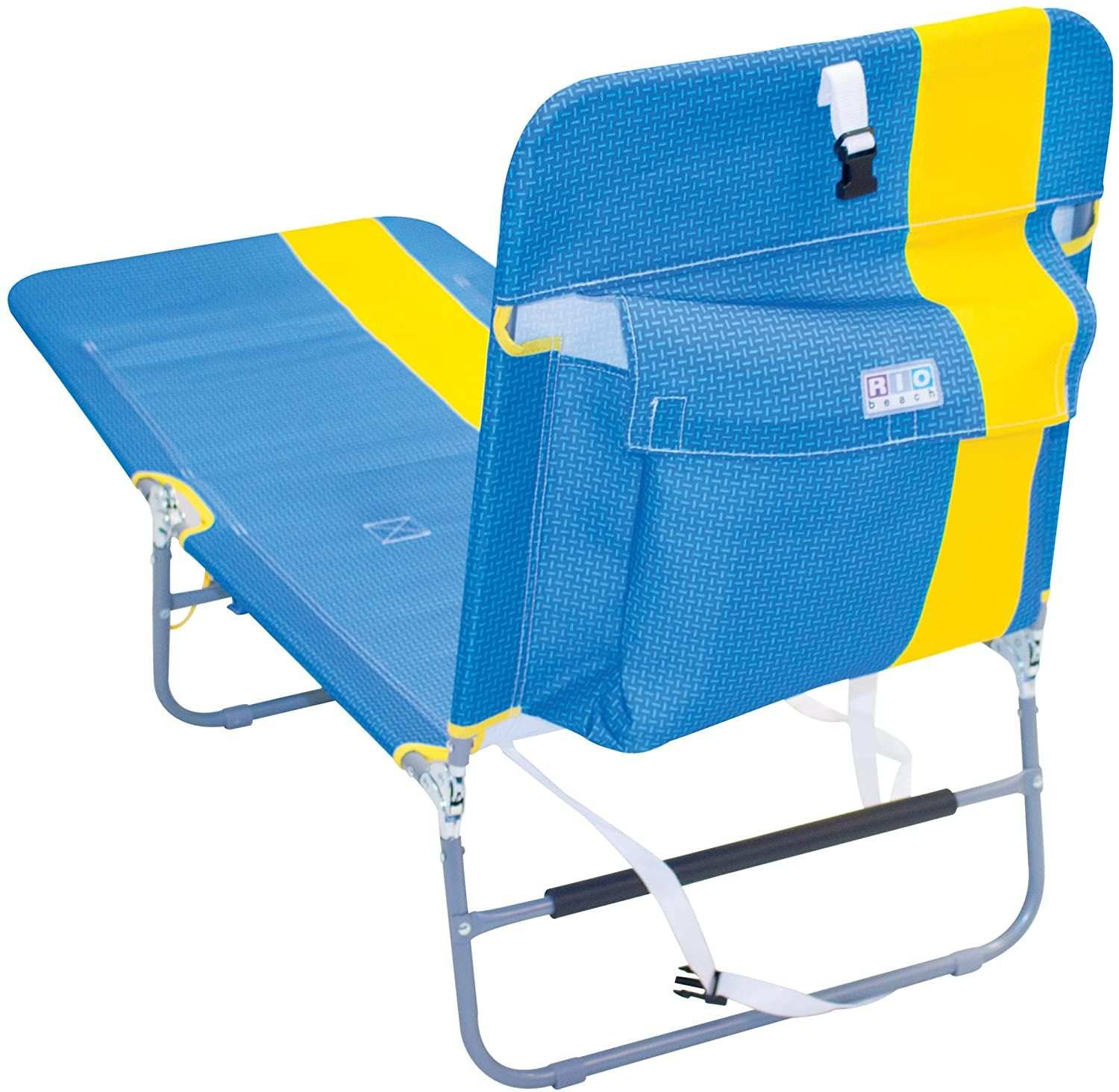 SportBrella Reclining Camping Chair With Attached