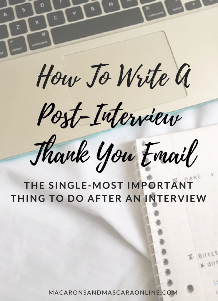 tips for writing a postinterview thank you email accounting description resume docx format samples call center job