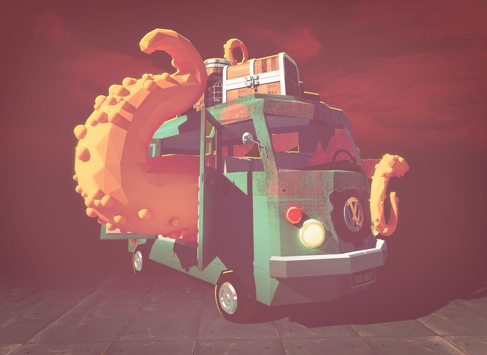 FlavioMontiel.com / Doom Wagon