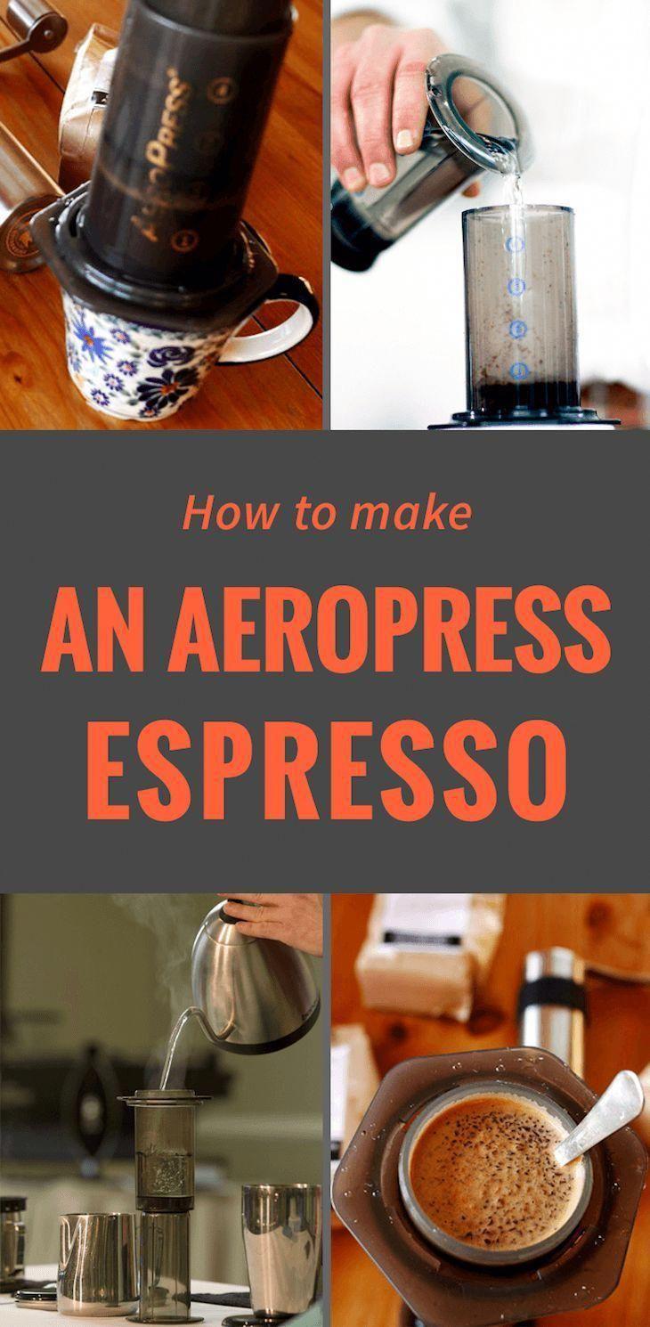 How to make an aeropress espresso coffee aeropress