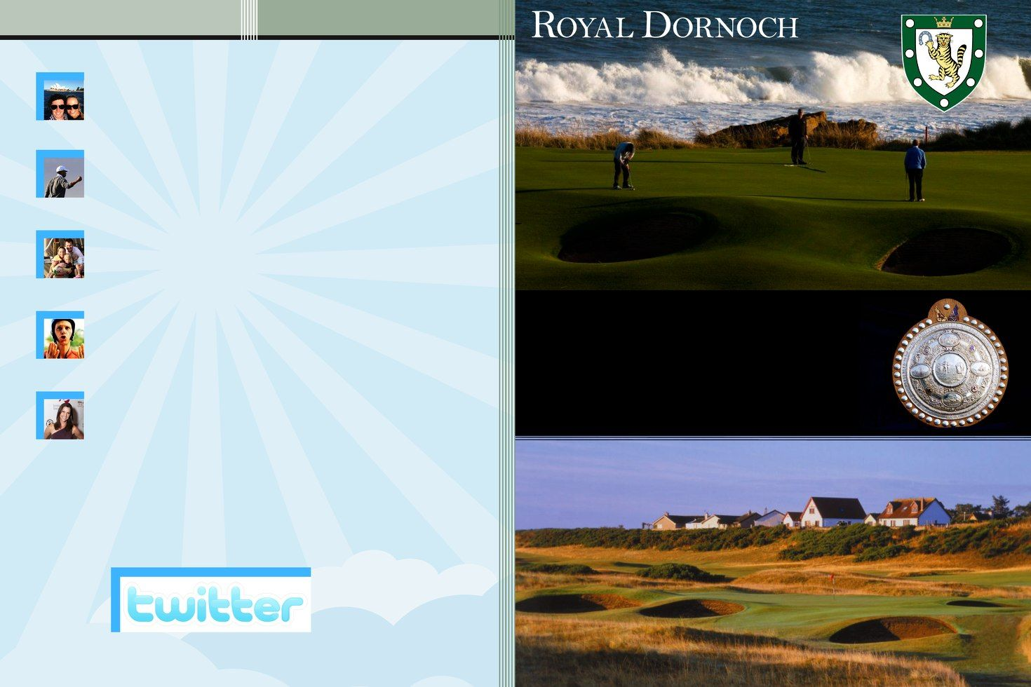 Royal Dornoch - the course won!