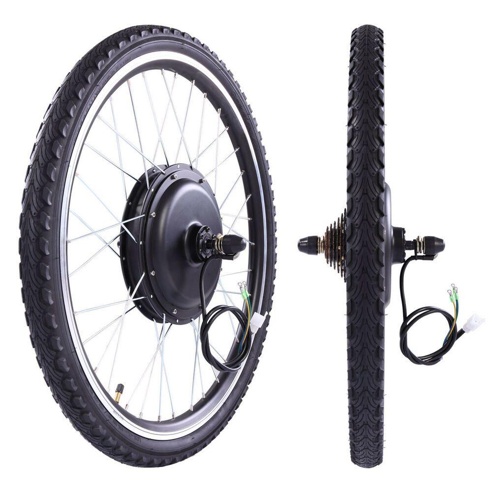 48v 1000w Electric Bicycle Cycle E Bike 26 Rear Wheel Conversion