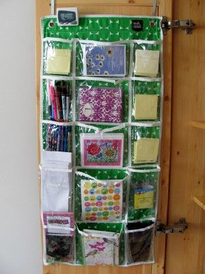 i love this! while an over the door shoe organizer works lovely this one has wider middle pockets for things that dont quite fit. & Simply Stashed u0026 Gear Pocket Organizers - | Pinterest | Shoes ...