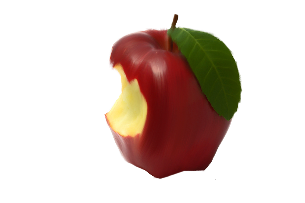 Bitten Apple Png By Moonglowlilly On Deviantart Png Apple Deviantart