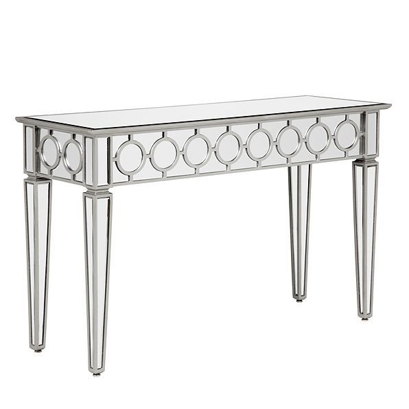Sophie Mirrored Console Table With