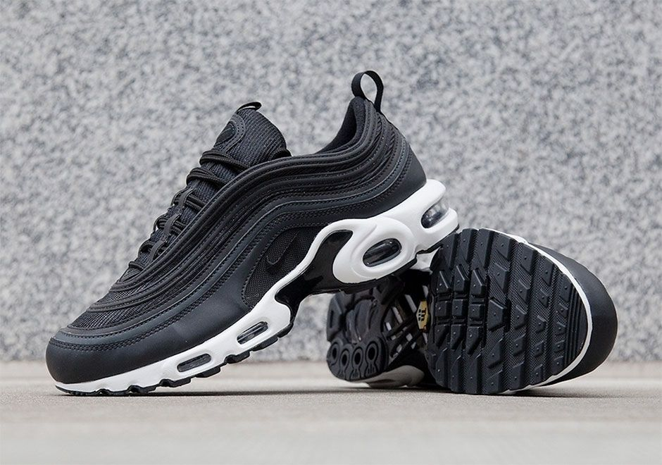 the best attitude e3a5e 479f4  sneakers  news NikeLab Fuses The Air Max 97 Upper With Air Max Plus Air  Bags