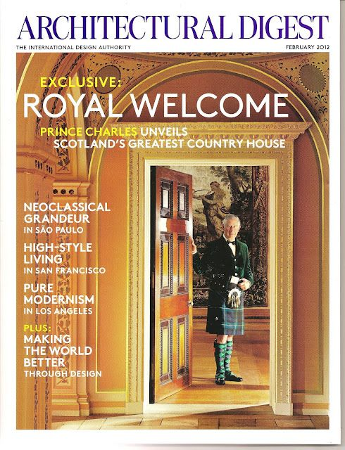 Love this Scottish Country House!  Thank You Charles! Still have this amazing issue