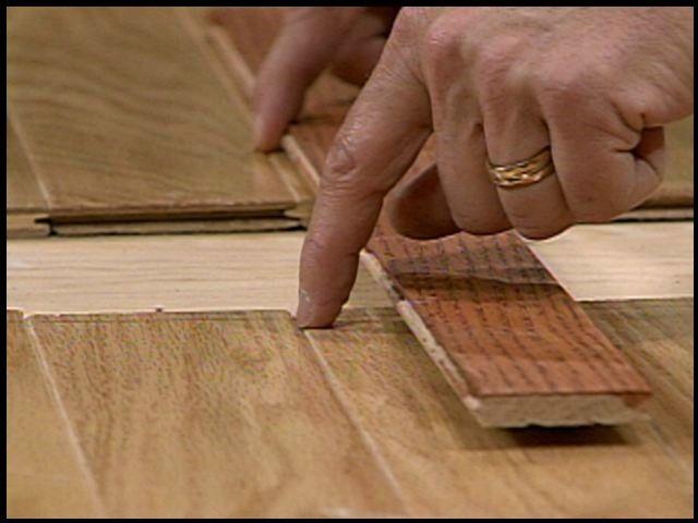 Filling A Floor Gap After Removing A Wall Diy Wood Floors Wood
