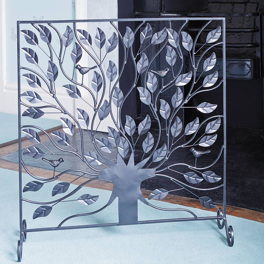 Tree Of Life Fireplace Surround: Tree Of Life Fire Screen By Traidcraft
