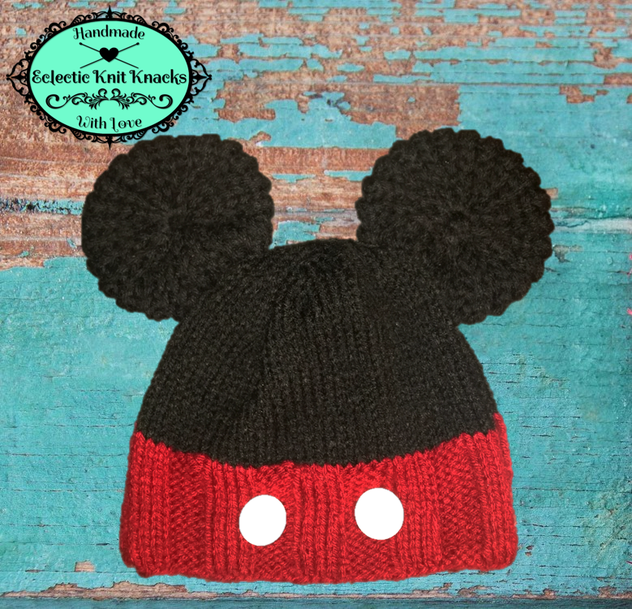 cf56f60288e75 Easy to follow knitting pattern for Disney lovers of all ages ...