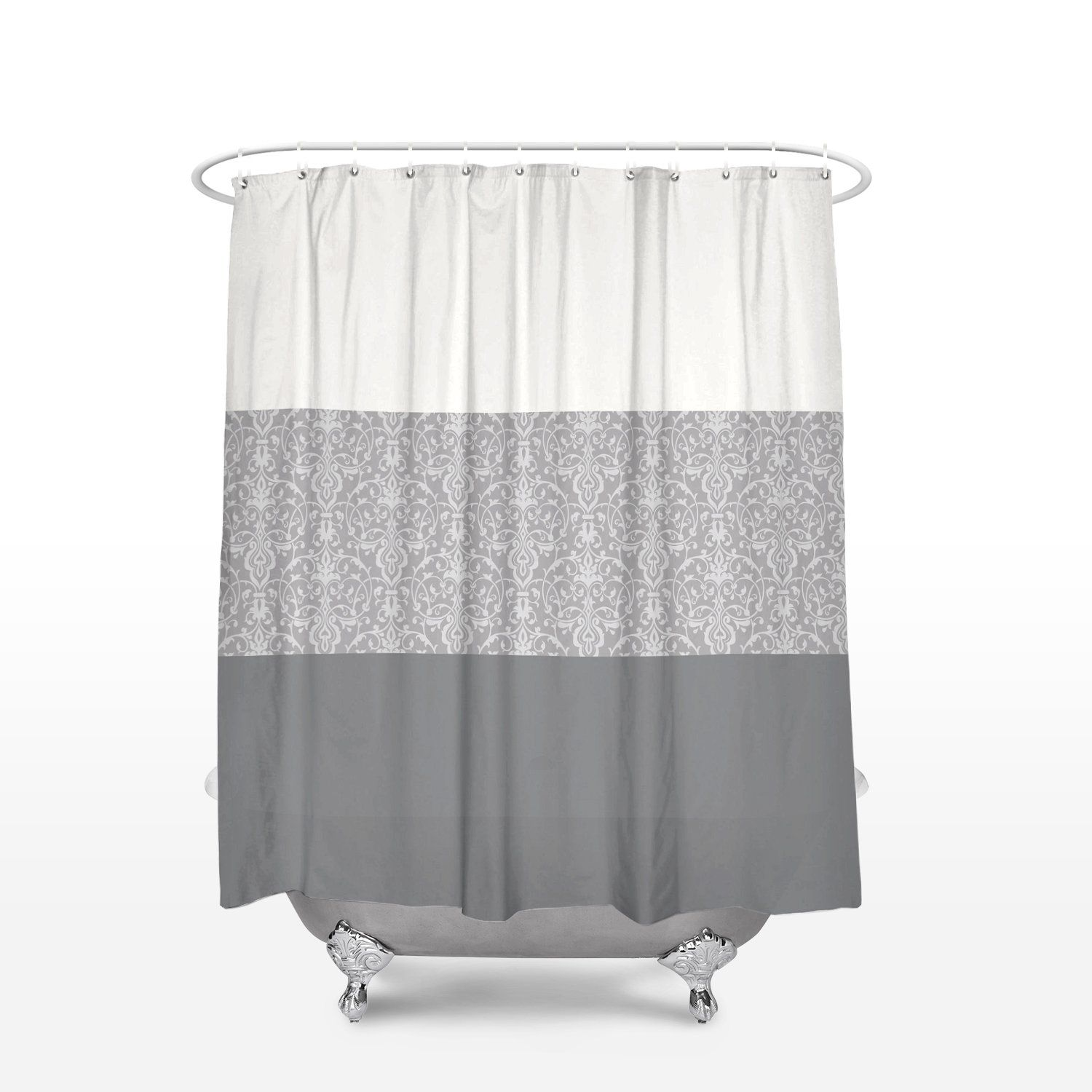 Pin By Shurta On Extra Long Shower Curtain Fabric Shower Curtains Bathroom Curtains Bathroom Sets