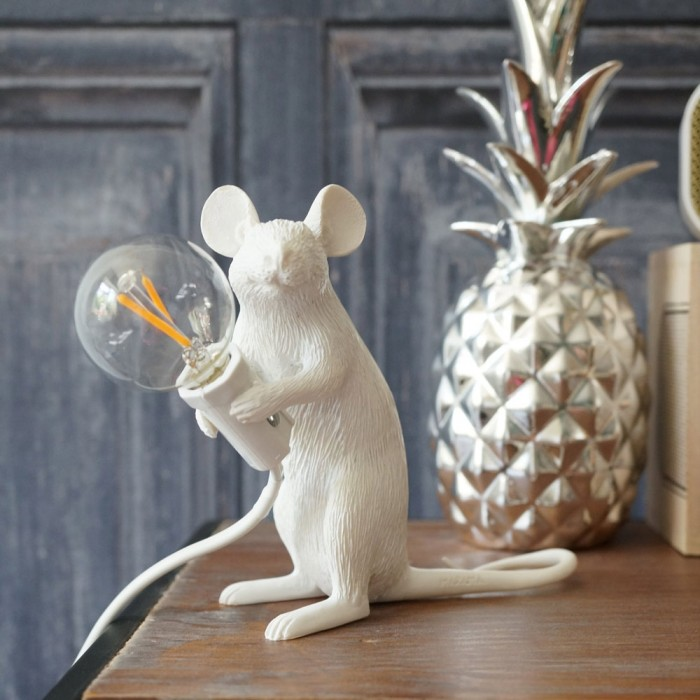 Photo of Seletti Mac – Sitting Mouse Lamp (White)
