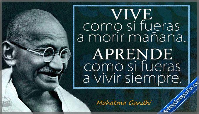 Frases De Mahatma Gandhi Frases Célebres De Mahatma Gandhi