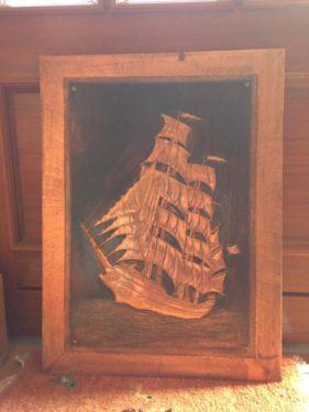 Kupfer Segelschiff Bild in Niedersachsen - Butjadingen | Kunst und Antiquitäten gebraucht kaufen | eBay Kleinanzeigen
