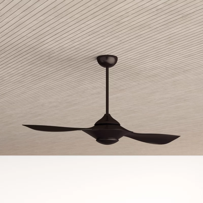 54 Knaus 2 Blade Propeller Ceiling Fan With Remote Control And Light Kit Included Allmodern In 2020 Ceiling Fan Ceiling Fan With Remote Propeller Ceiling Fan