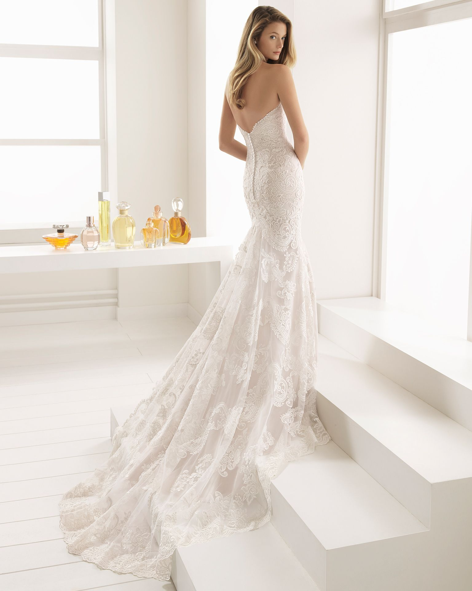 88fe36f5eda9 BALLEY back view Aire Barcelona Wedding Dresses, Bridal Style, Gowns,  Elegant, Dress