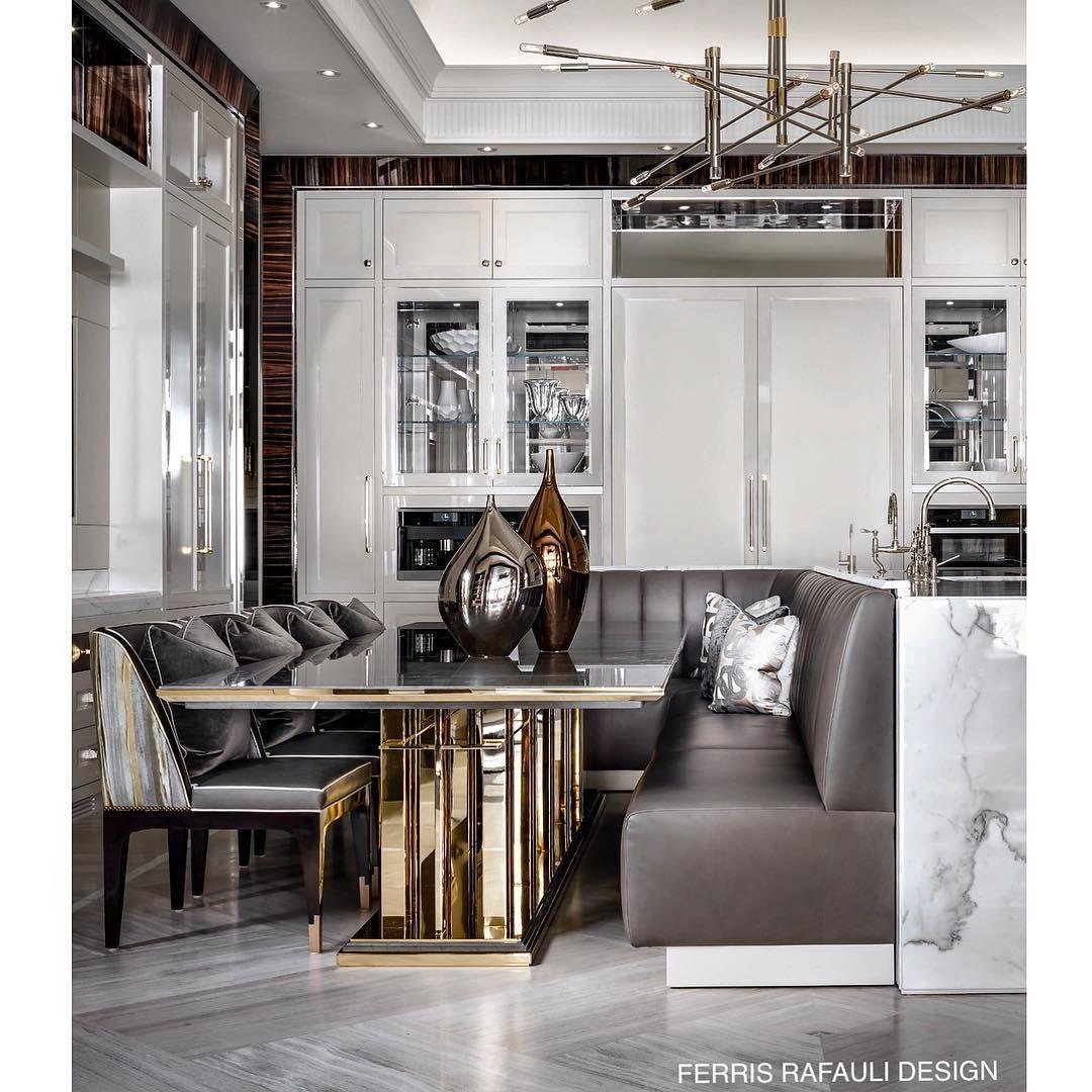 103 7 Tys Podpischikov 555 Podpisok 546 Publikacij Posmotrite V Instagram Foto I Video Ferris Rafauli F Luxury Dining Room Luxury Home Decor Luxury Homes