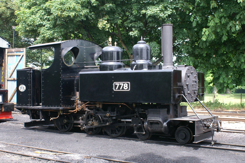 Baldwin 4-6-0T WD No.778