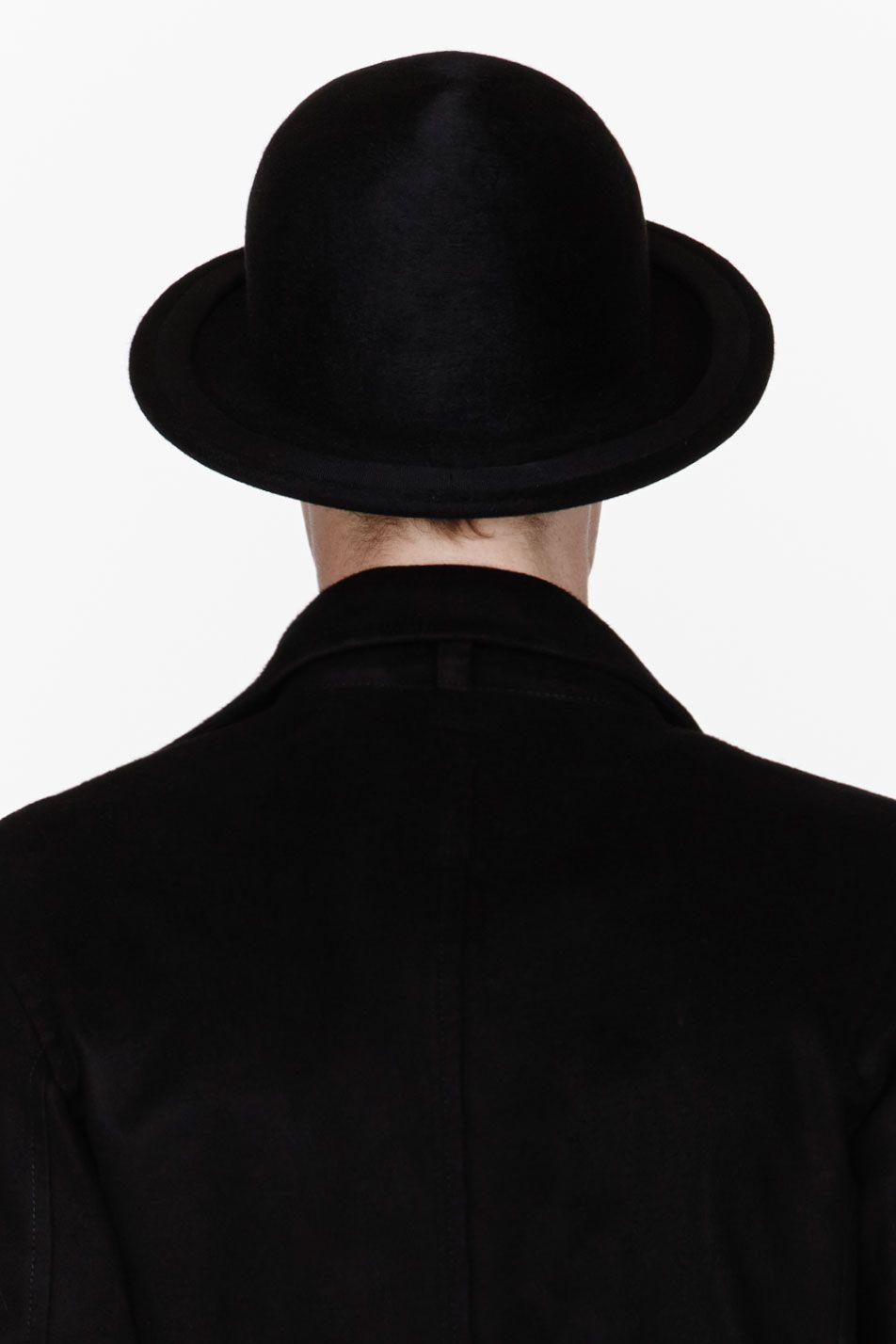 7ab394180b6 ANN  DEMEULEMEESTER Black wool round hat