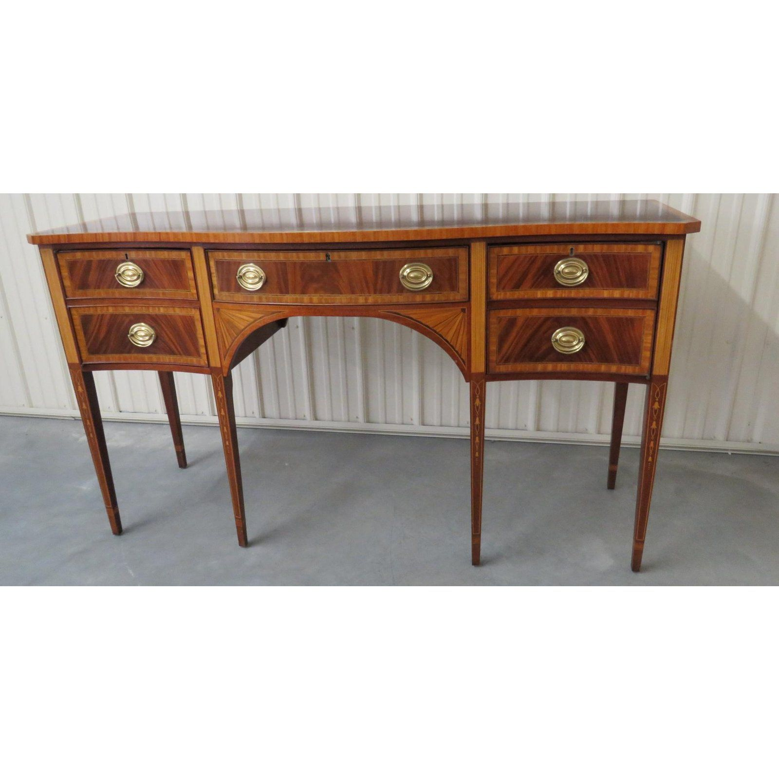Lovely Councill Craftsman Georgian Style Sideboard Decaso