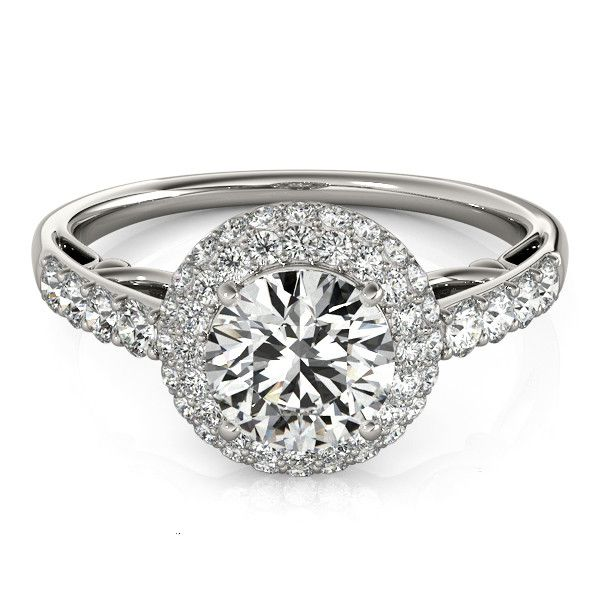 Engagement Ring with Halo from Spexton Custom Jewelry