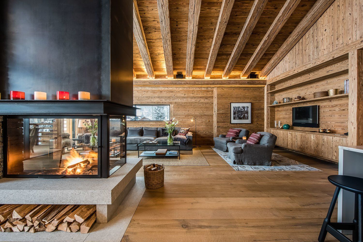 best photos from 10 modern fireplaces that make for inviting rh pinterest com
