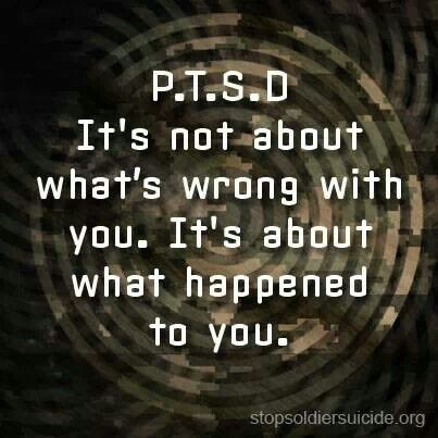 PTSD and more than Vets get it   I was attacked AT A