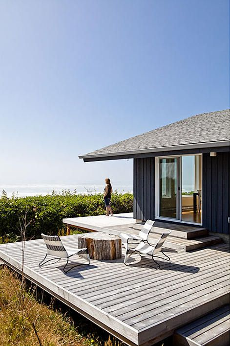 Seaside Home Art And Architecture Casas Terrazas Casas