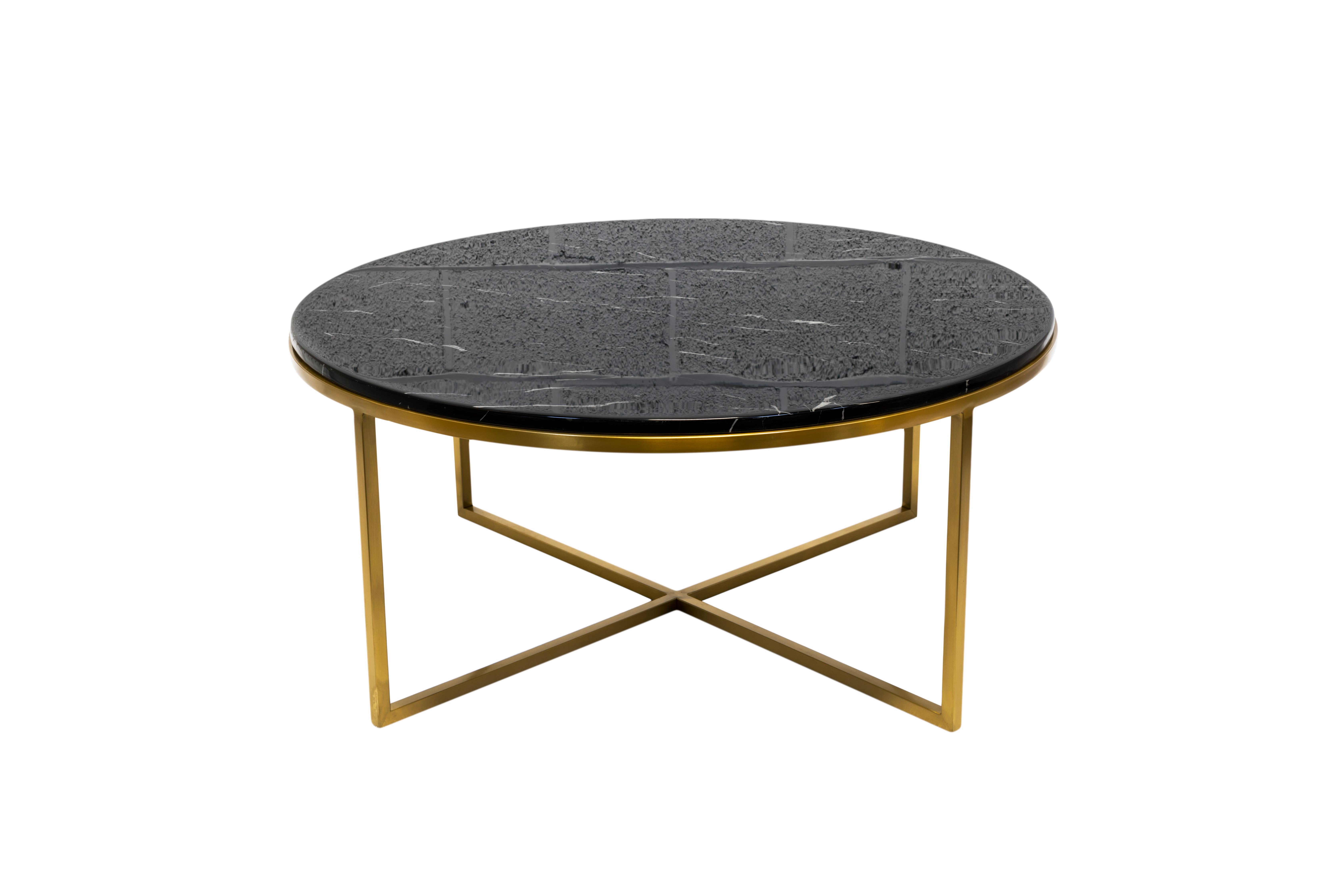 Valentina Marble And Brass Coffee Table Quality Not Expensive