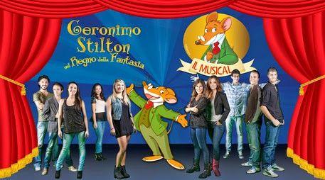 Wow formidabile! Geronimo Stilton l'amato topino debutta a teatro il 7 Novembre a Milano  in 1 musical cantato tutto dal vivo per la gioia di tutti i bambini ! Da non perdere ovviamente!   Lapislazzuli Blu: #Geronimo #Stilton, il #musical a #Milano  #Debutt...