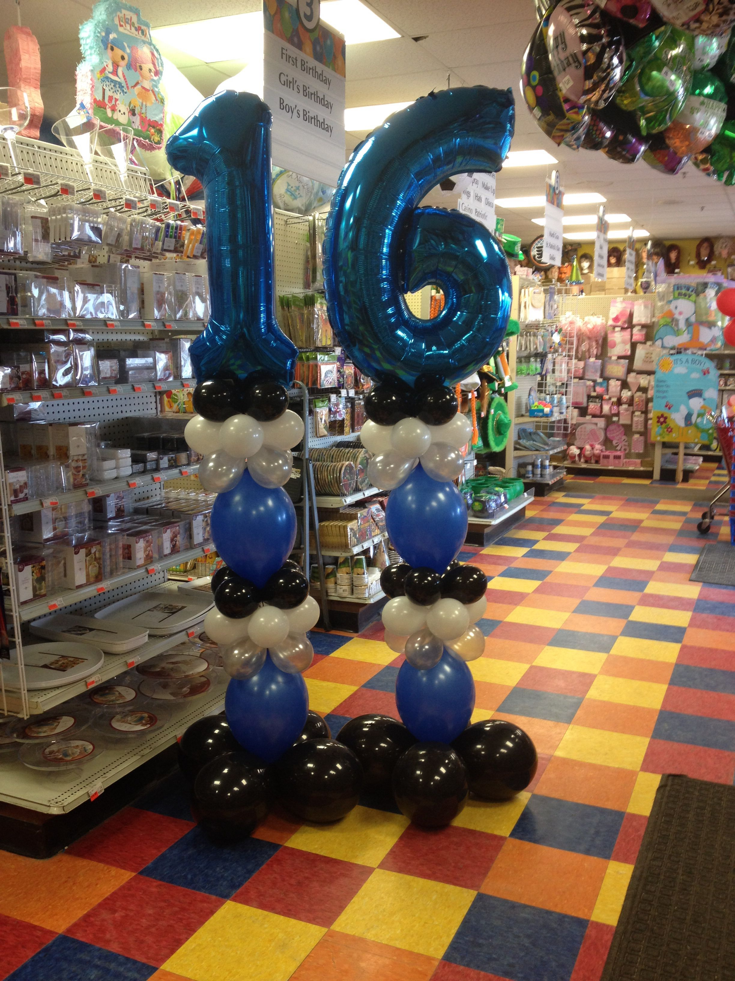 16th birthday for a boy party fair willow grove pa for 16th birthday decoration