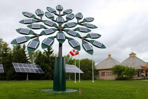 World S Largest Solar Tree Art Iconography Projects Solar Tree Solar Panels Solar Energy Panels