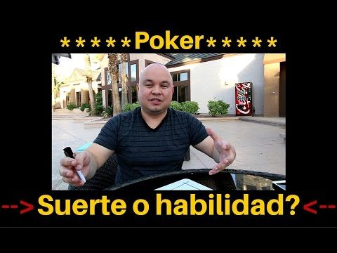 Poker - Suerte o habilidad - YouTube